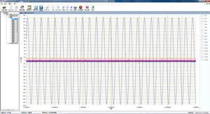 信号随采样次数变化的曲线