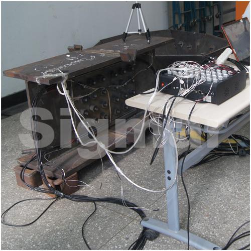 高铁基础焊接与装配应力